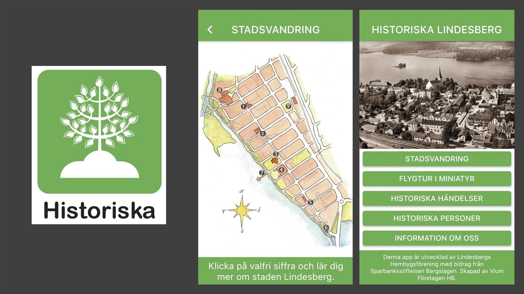 Bergslagens Sparbank: Ny app lyfter historiska Lindesberg