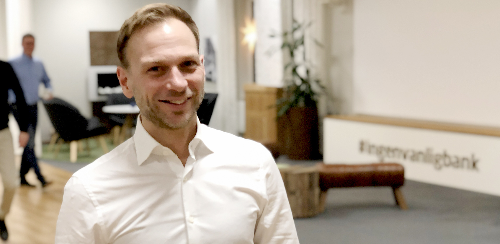 Björn Rinstad vd Leksands Sparbank