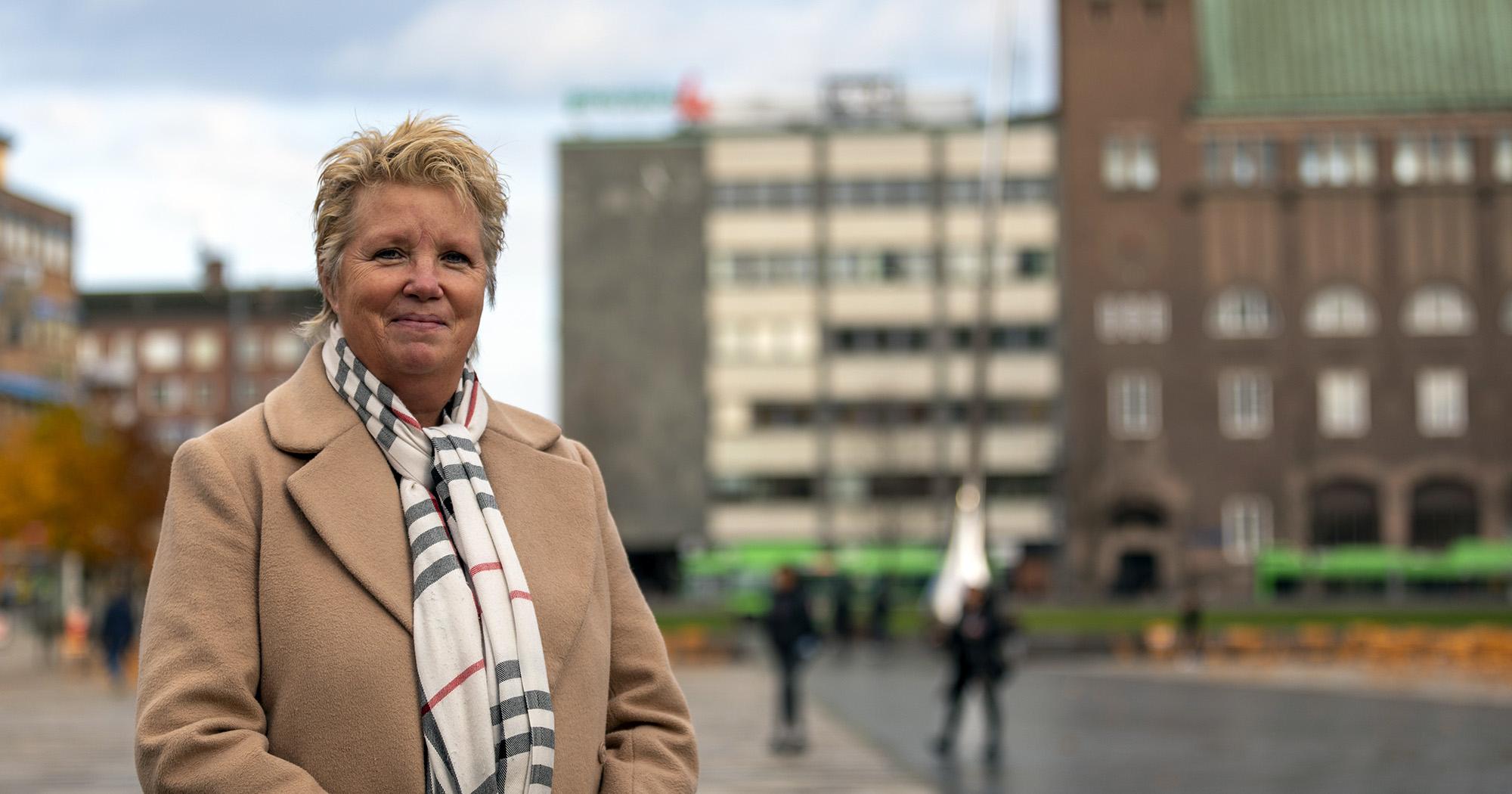 Annika Helg vd på Sparbanken Rekarne