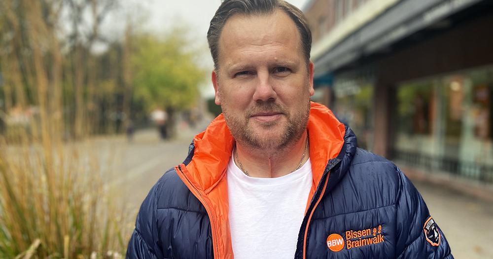 """Mathias """"Bissen"""" Larsson. Stötta hjärnforskningen"""