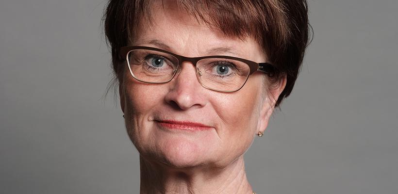 Ewa Andersen, vd Sparbankernas Riksförbund.