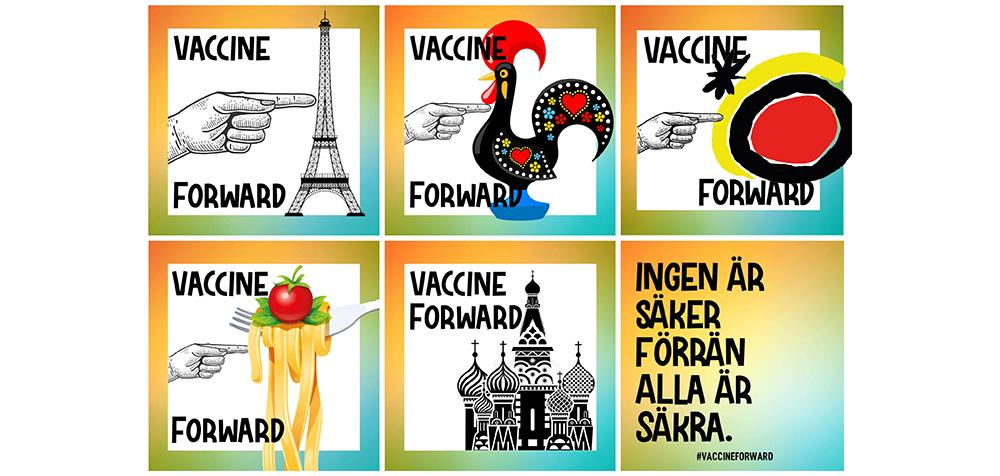 300 000 vaccindoser till behövande länder
